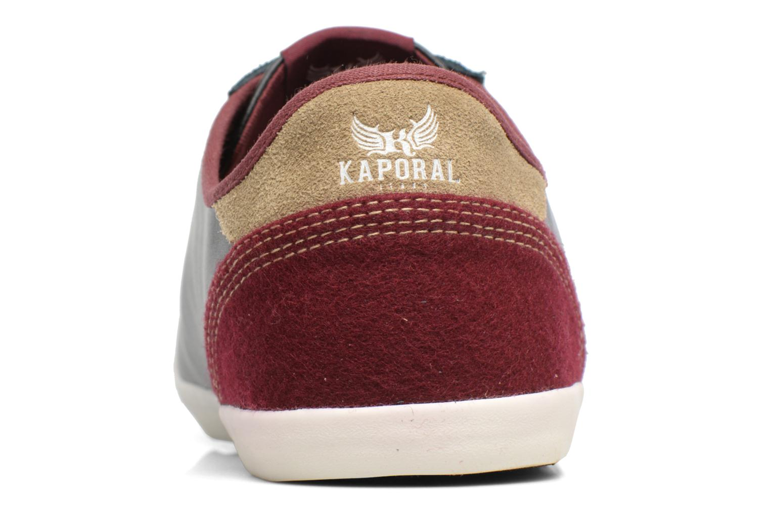 Trainers Kaporal Karati Black view from the right