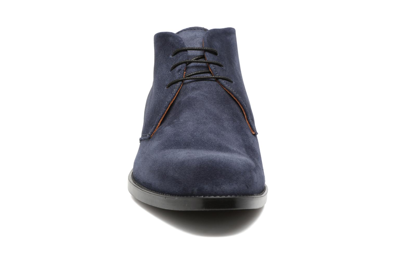 Scarpe con lacci Marvin&Co Tellington Azzurro modello indossato