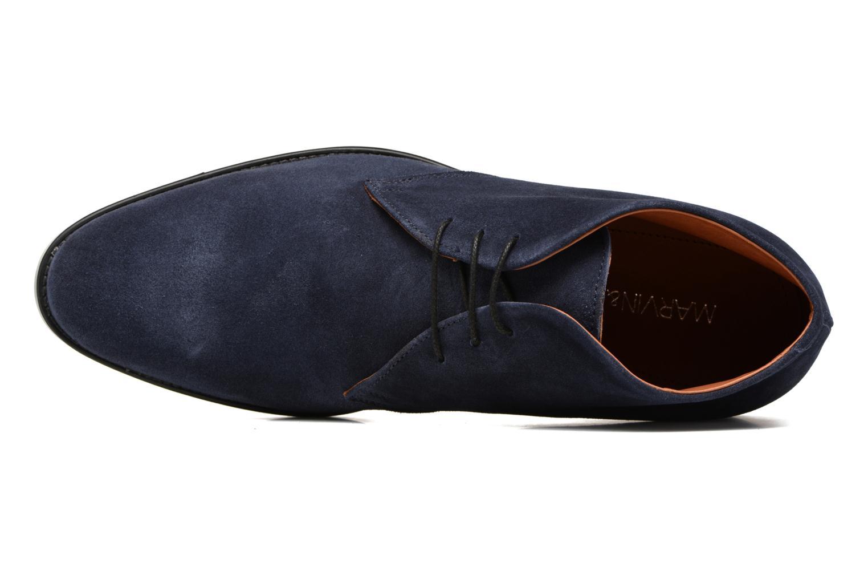 Chaussures à lacets Marvin&Co Tellington Bleu vue gauche