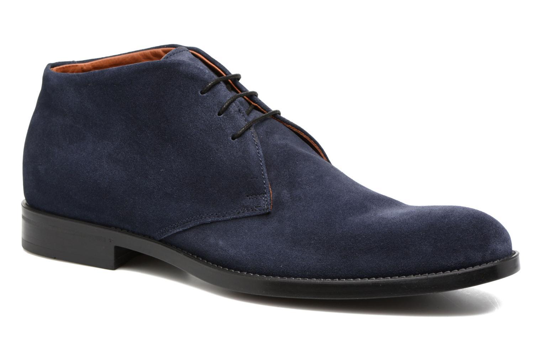 Chaussures à lacets Marvin&Co Tellington Bleu vue détail/paire