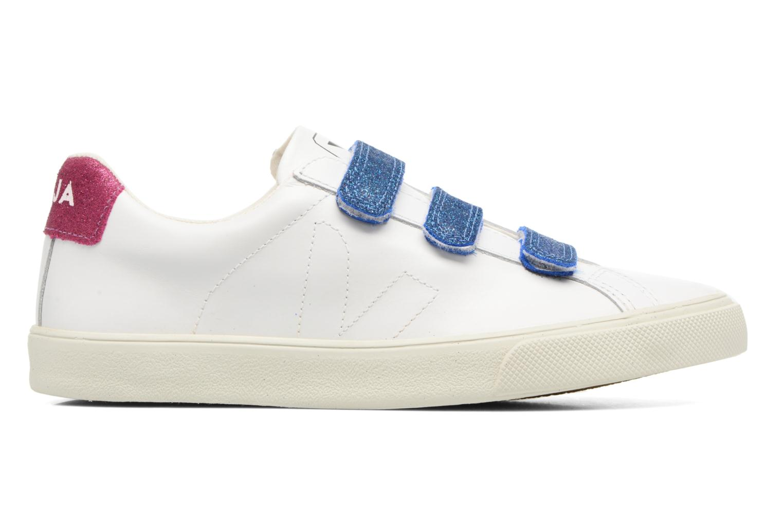 3 LOCK LEATHER EXTRA WHITE VELCRO NEON PIERRE