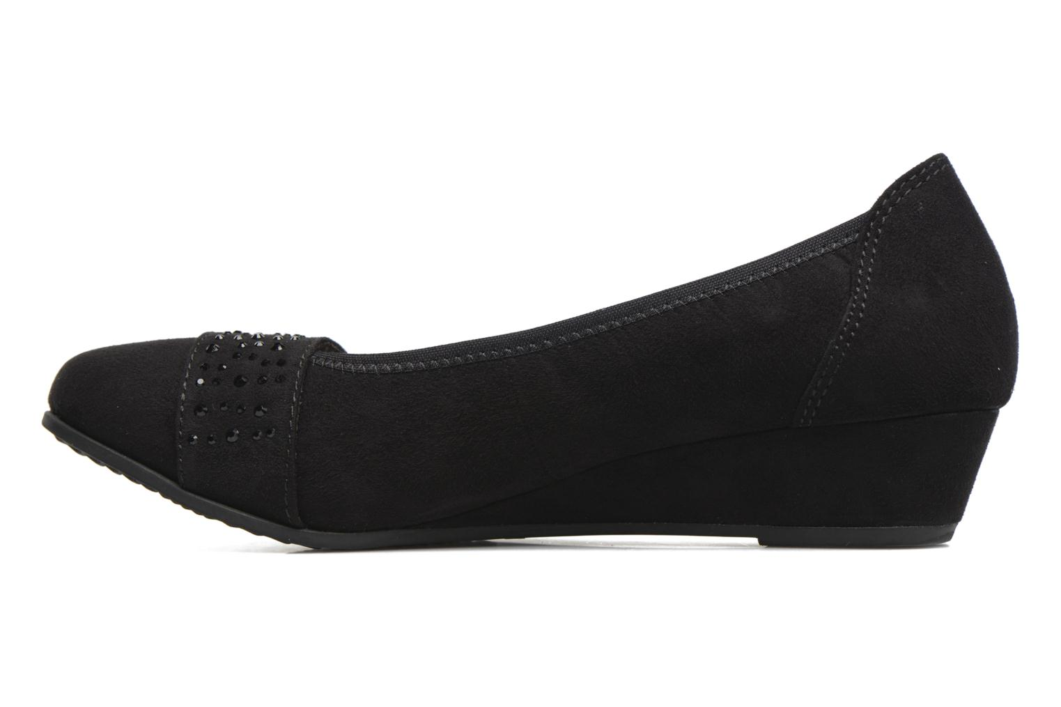 Ballerines Jana shoes Pali Noir vue face
