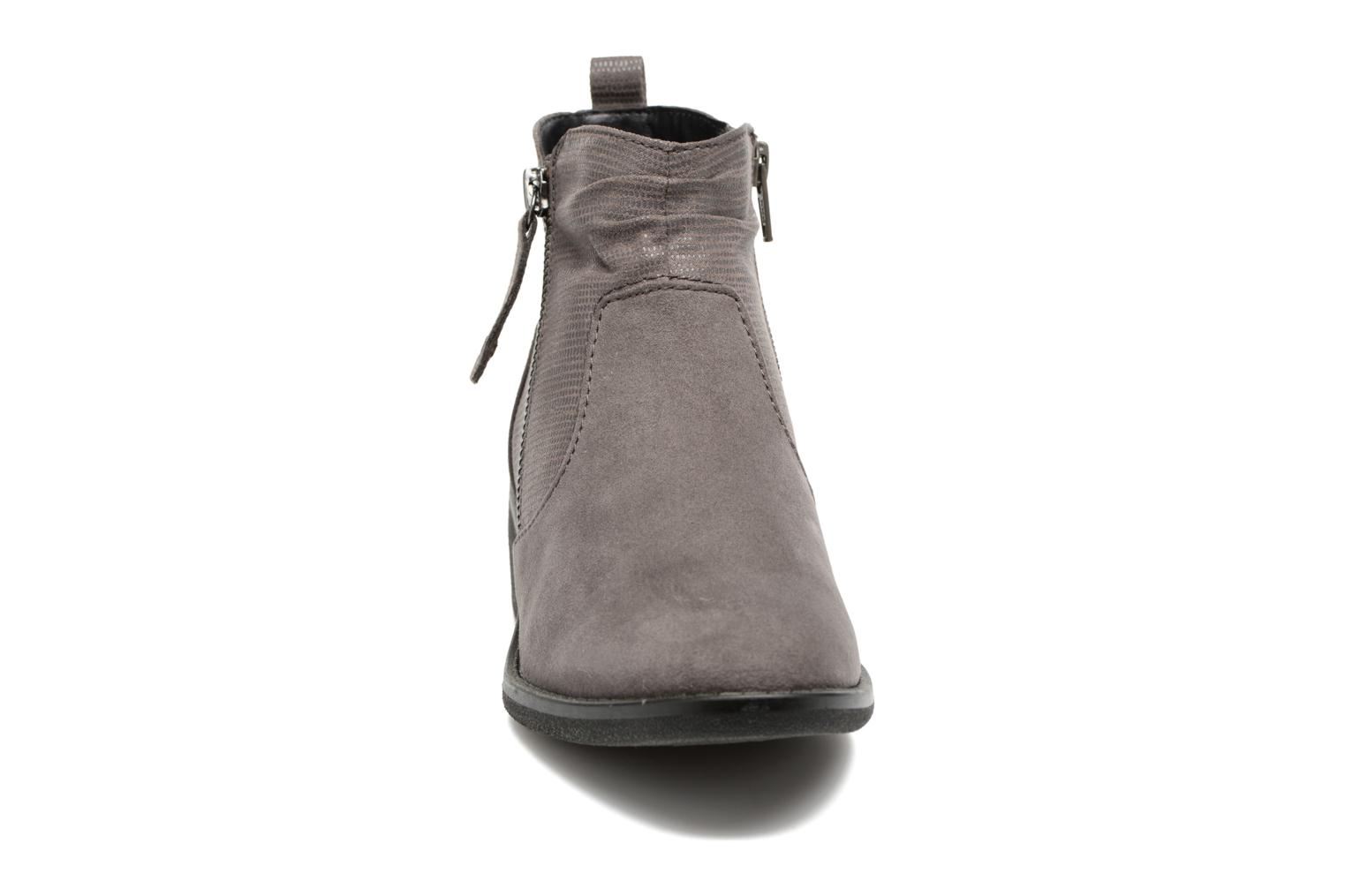 Ankle boots Jana shoes Jubi Grey model view
