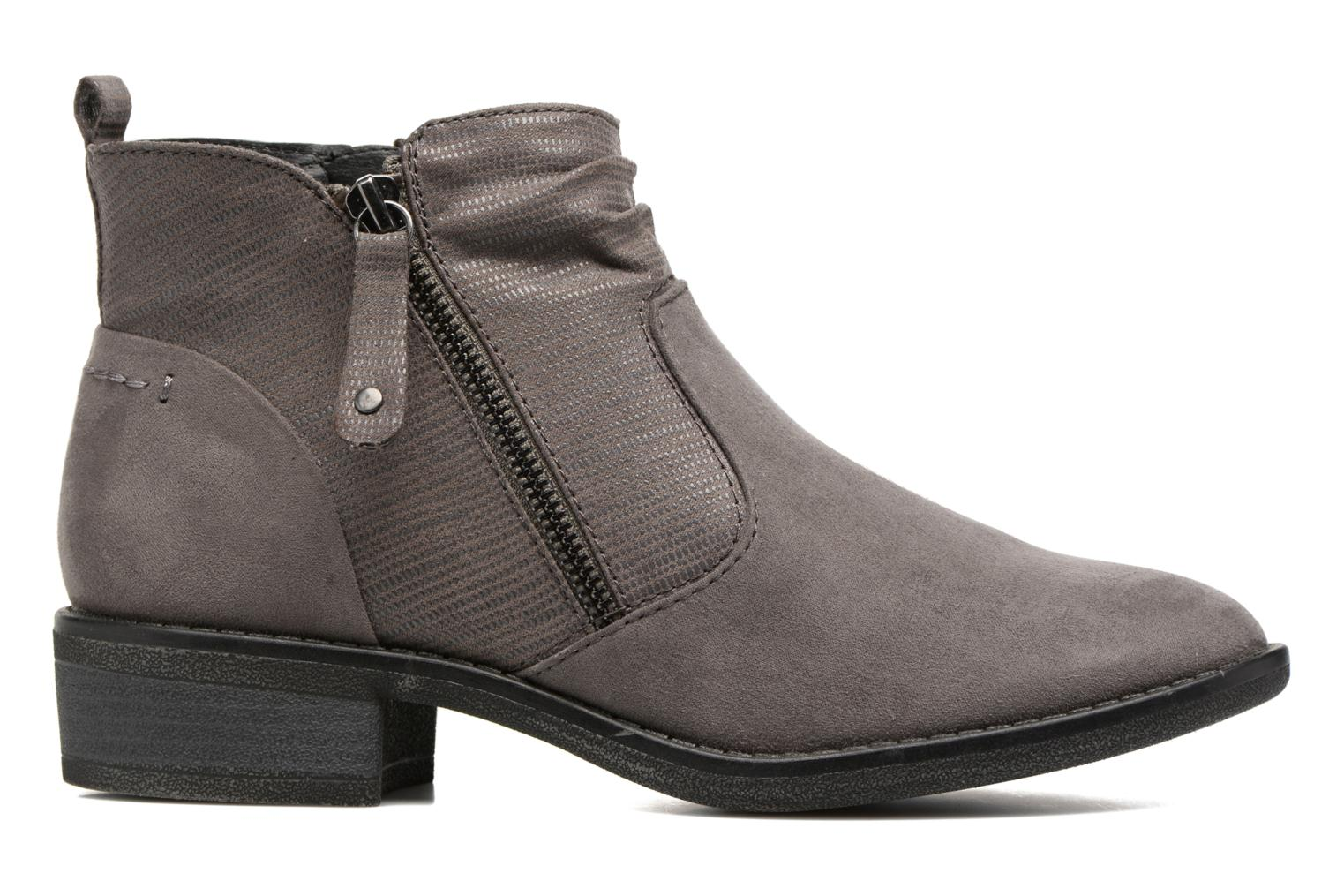 Ankle boots Jana shoes Jubi Grey back view