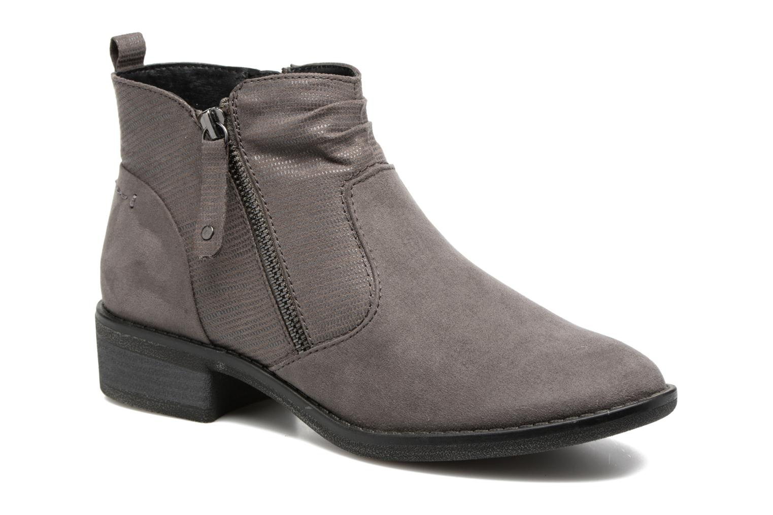 Ankle boots Jana shoes Jubi Grey detailed view/ Pair view