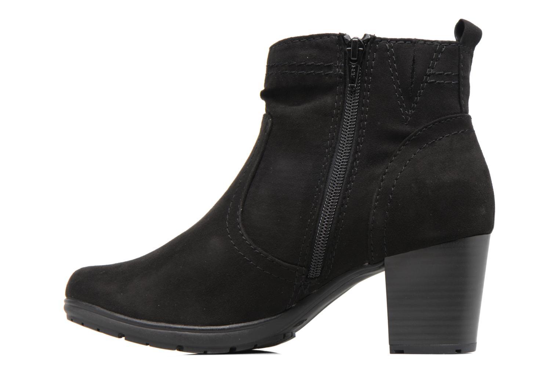 Bottines et boots Jana shoes Alec Noir vue face