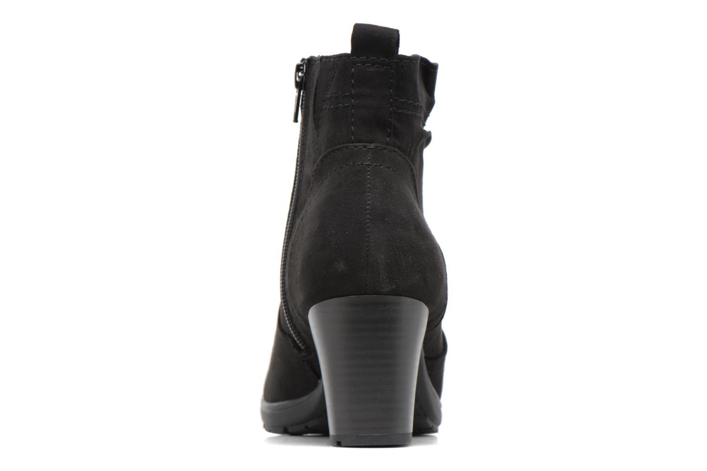 Bottines et boots Jana shoes Alec Noir vue droite