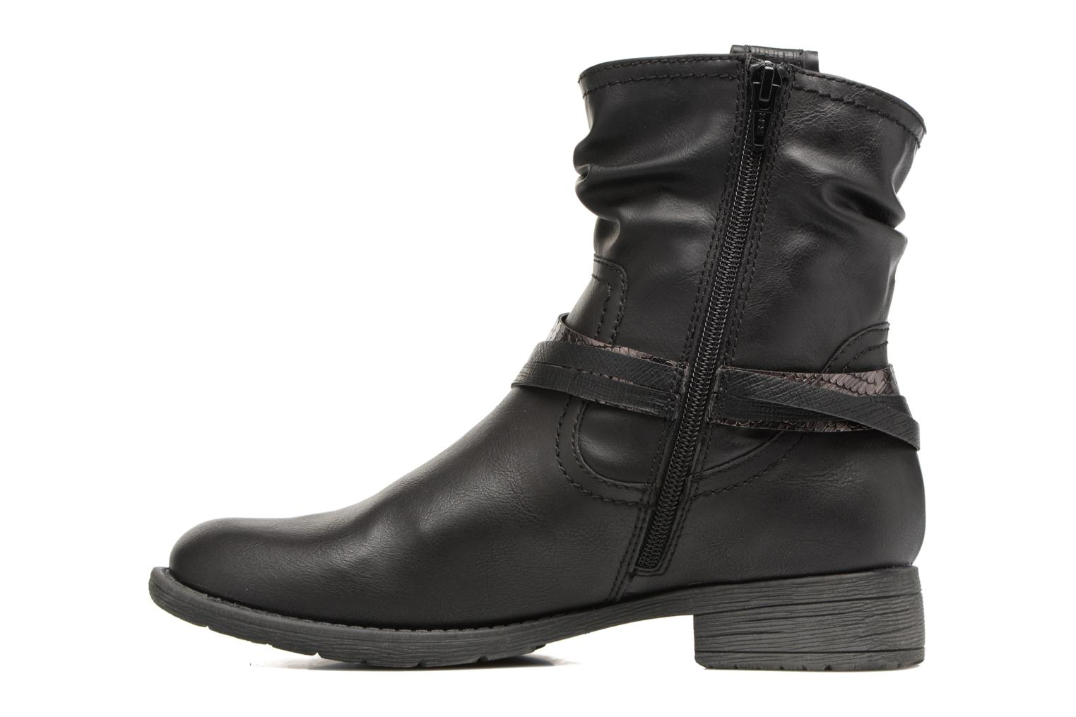 Bottines et boots Jana shoes Viorne 2 Noir vue face