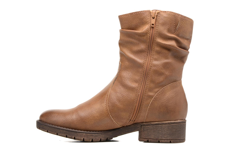 Bottines et boots Jana shoes Lino Marron vue face