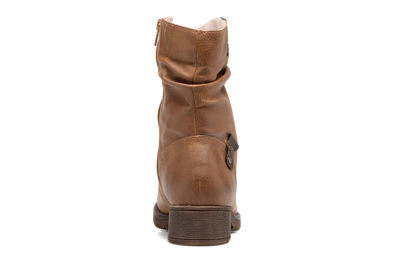 Bottines et boots Jana shoes Lino Marron vue droite