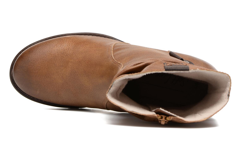 Bottines et boots Jana shoes Lino Marron vue gauche