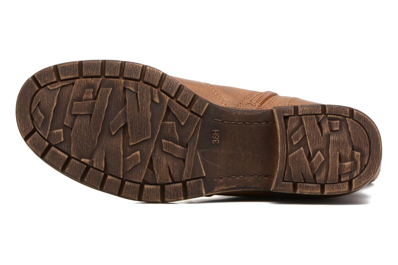 Bottines et boots Jana shoes Lino Marron vue haut