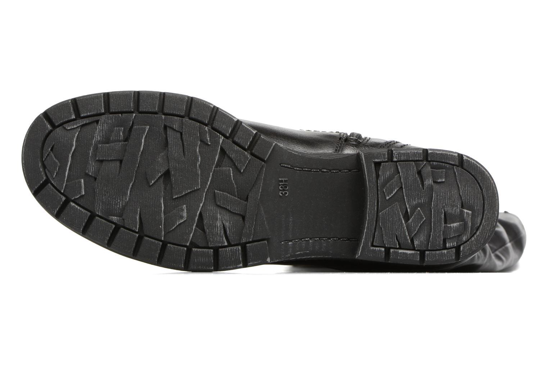 Bottes Jana shoes Yelena Noir vue haut