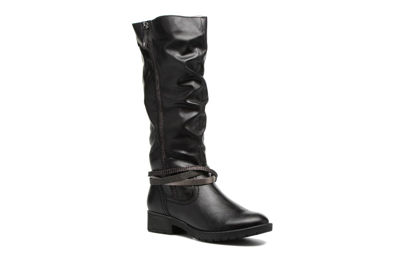 Bottes Jana shoes Yelena Noir vue détail/paire