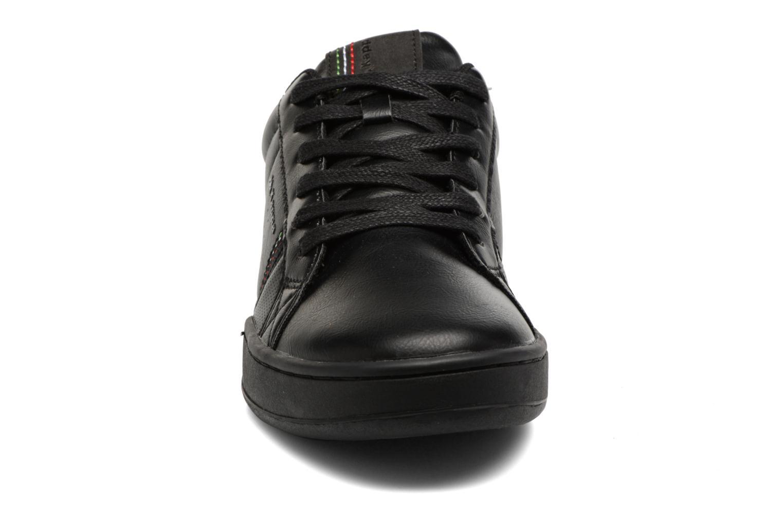 Baskets Kappa Sfidante Noir vue portées chaussures