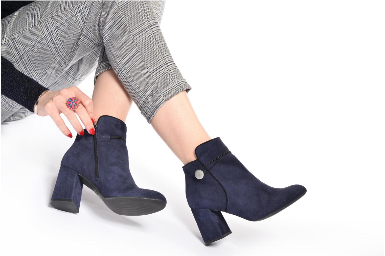 Bottines et boots Made by SARENZA Boots Camp #7 Noir vue bas / vue portée sac