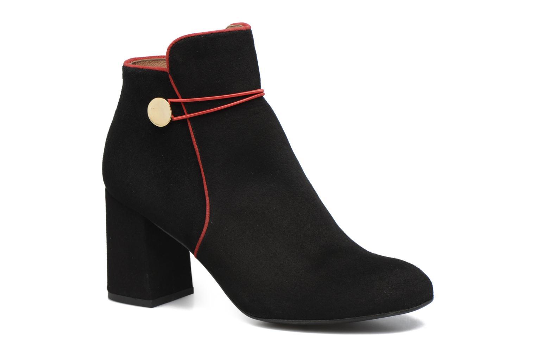 Bottines et boots Made by SARENZA Boots Camp #7 Noir vue droite