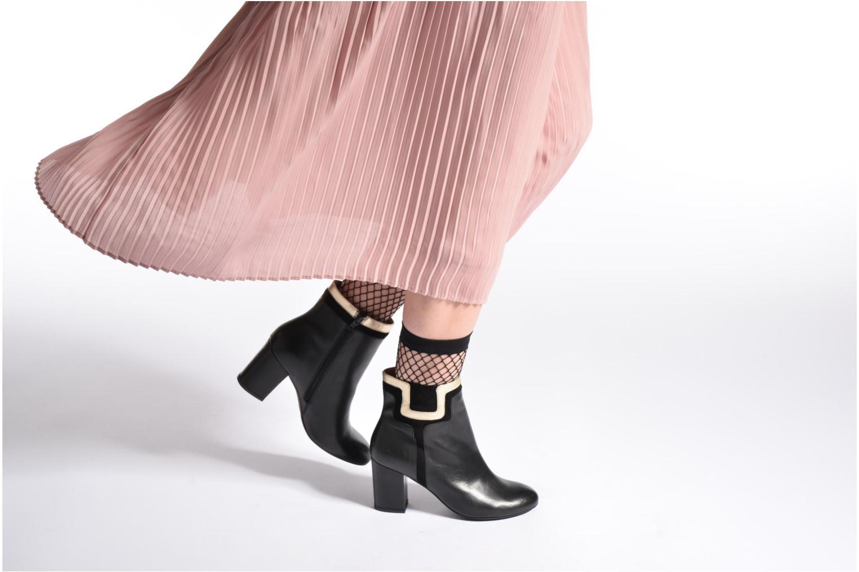 Bottines et boots Made by SARENZA Boots Camp #10 Noir vue bas / vue portée sac