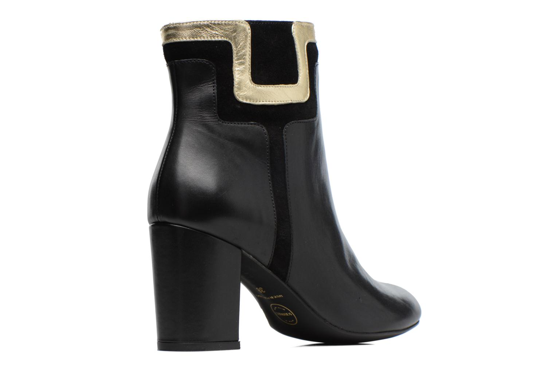 Bottines et boots Made by SARENZA Boots Camp #10 Noir vue face