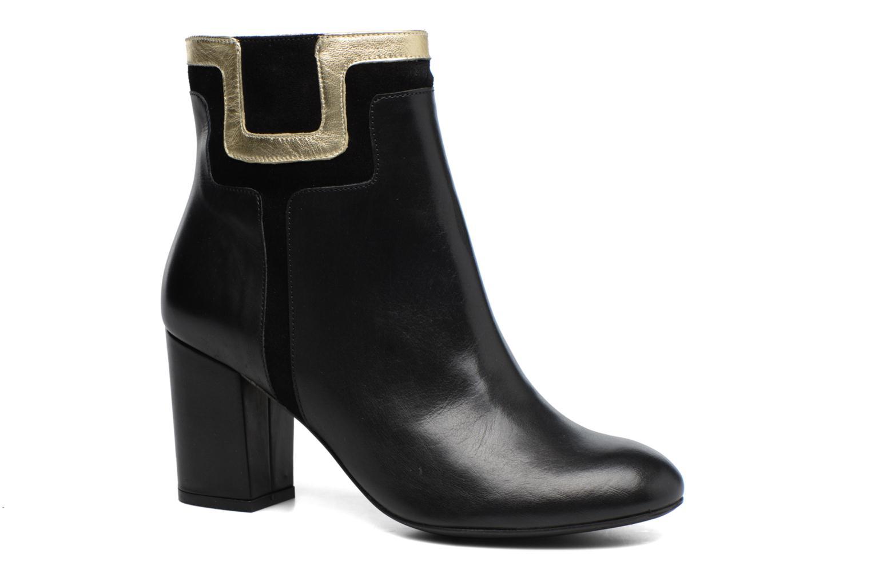 Boots Camp #10 Cuir Lisse Noir