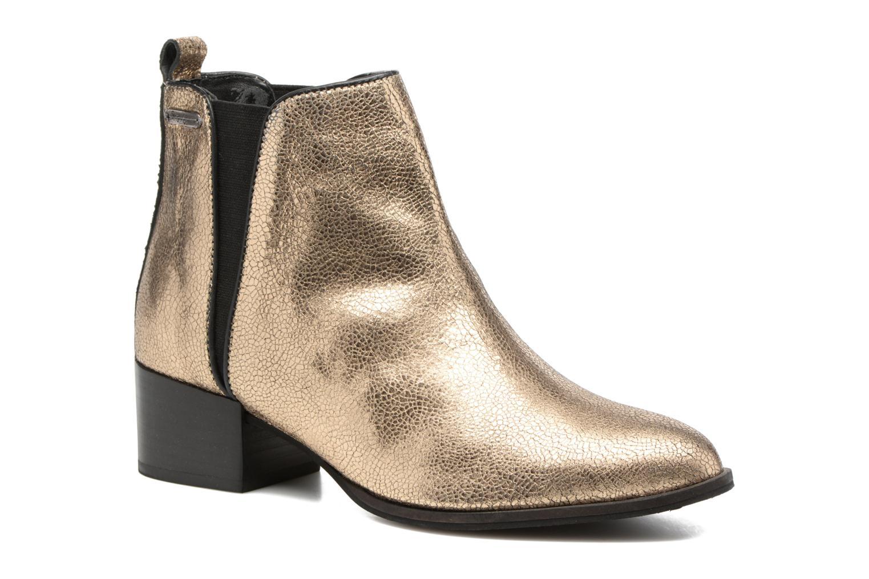 Botines  Pepe jeans WATERLOO NIGHT Oro y bronce vista de detalle / par