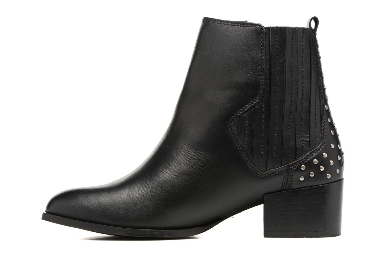 Bottines et boots Pepe jeans WATERLOO STRETCH Noir vue face