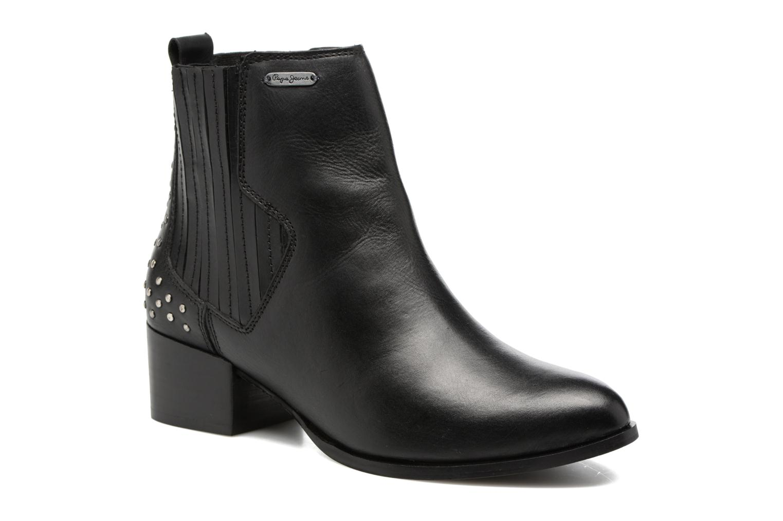 Ankle boots Pepe jeans WATERLOO STRETCH Black detailed view/ Pair view