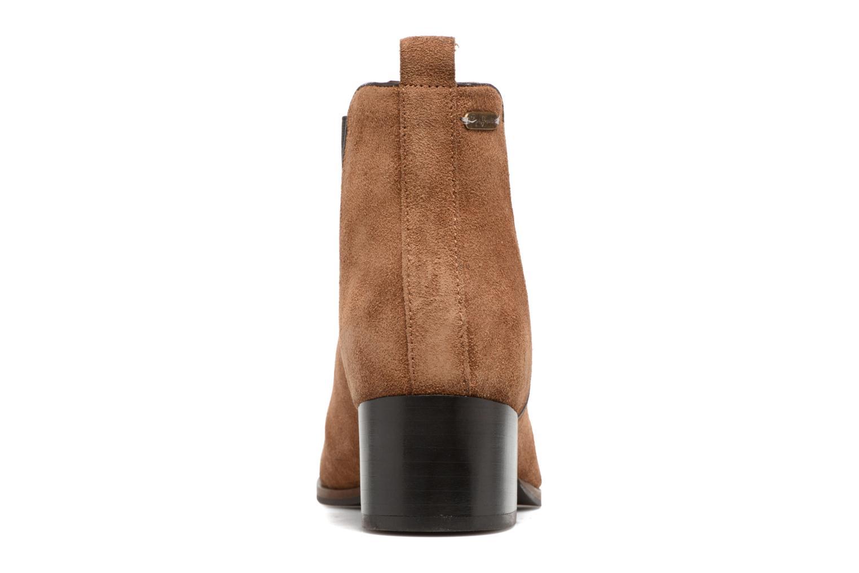 Botines  Pepe jeans WATERLOO ICON Marrón vista lateral derecha