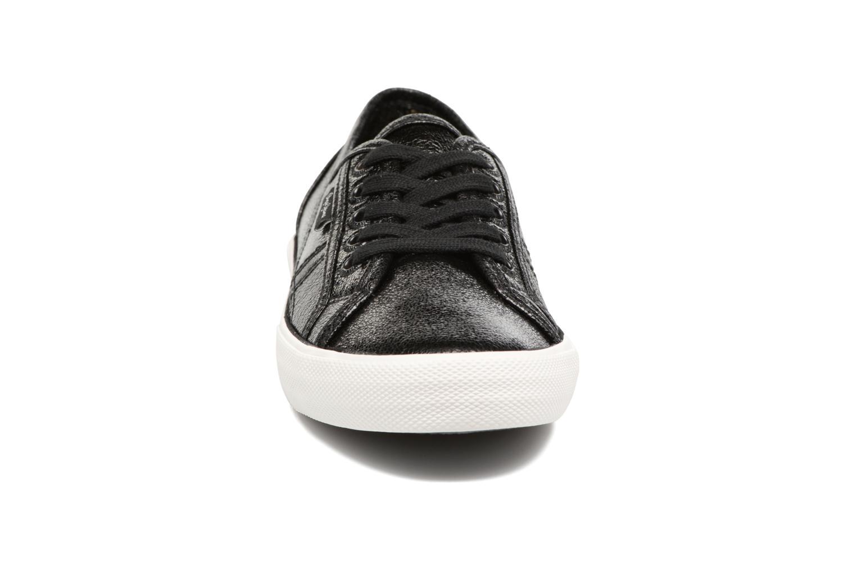 Baskets Pepe jeans Aberlady Met Noir vue portées chaussures