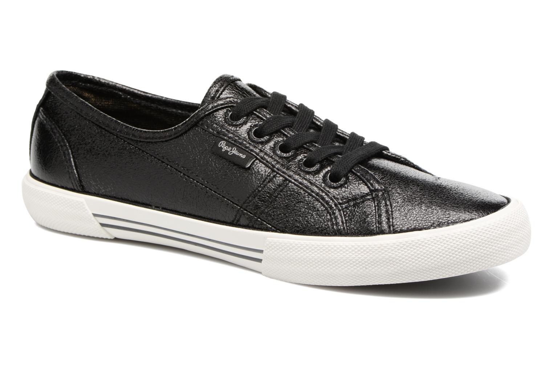 Grandes descuentos últimos zapatos Pepe jeans Aberlady Met (Negro) - Deportivas Descuento