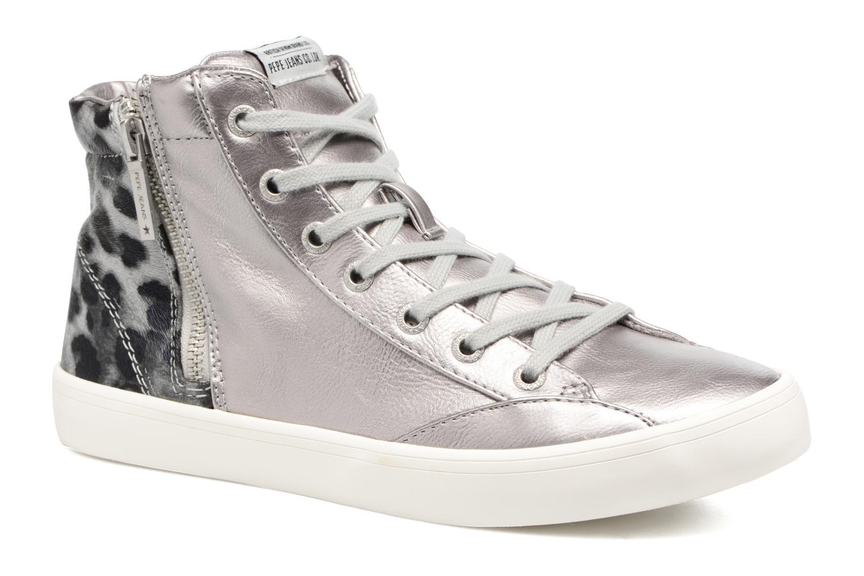 Baskets Pepe jeans CLINTON SUE Argent vue détail/paire