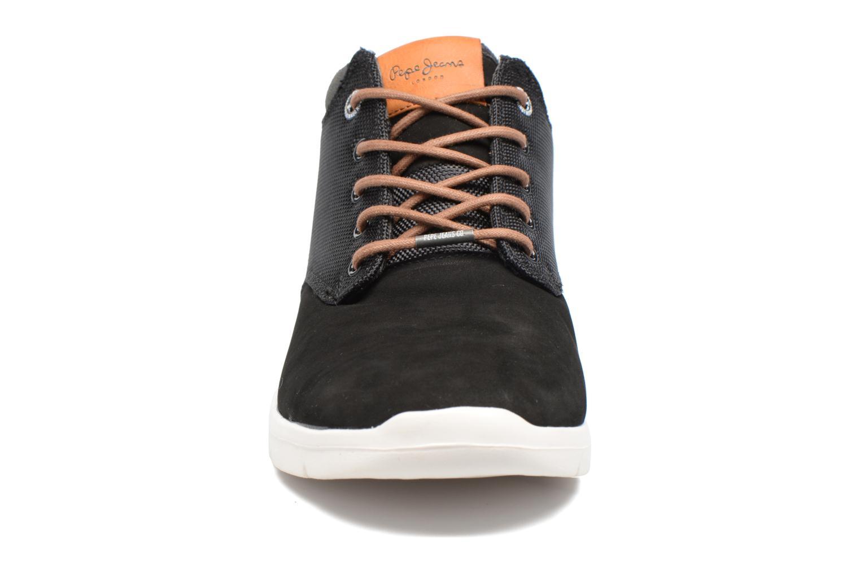 Baskets Pepe jeans JAYDEN CORDURA Noir vue portées chaussures