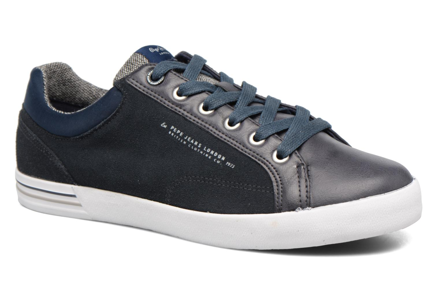 Pepe jeans NORTH MIX (Bleu) - Baskets chez Sarenza (301384)
