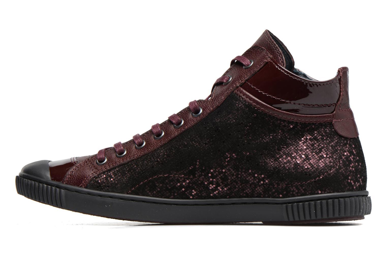 Sneakers Pataugas Bono Bordò immagine frontale