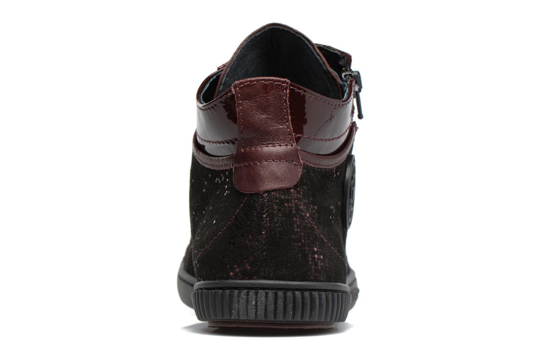 Sneakers Pataugas Bono Bordò immagine destra