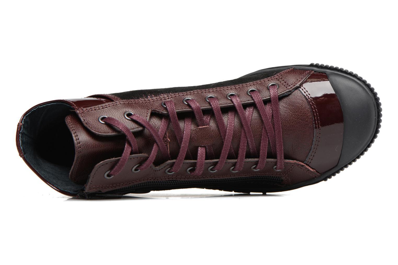 Sneakers Pataugas Bono Bordò immagine sinistra