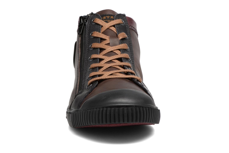 Baskets Pataugas Bumper/Mc Marron vue portées chaussures