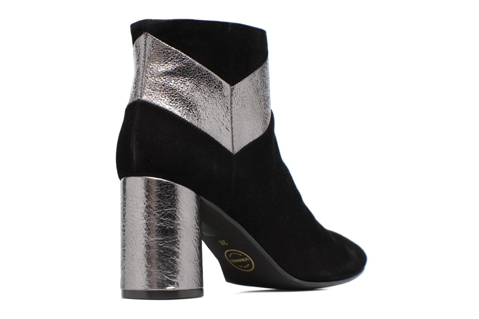 Ankle boots Made by SARENZA Winter Ski #8 Black front view