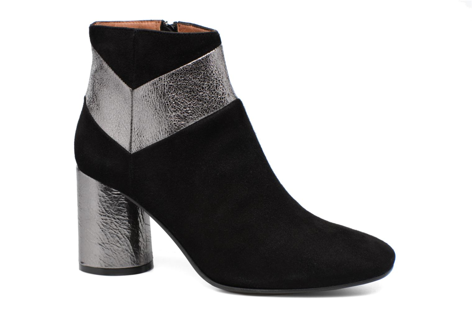 Ankle boots Made by SARENZA Winter Ski #8 Black view from the right