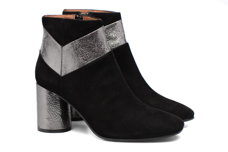 Bottines et boots Made by SARENZA Winter Ski #8 Noir vue derrière