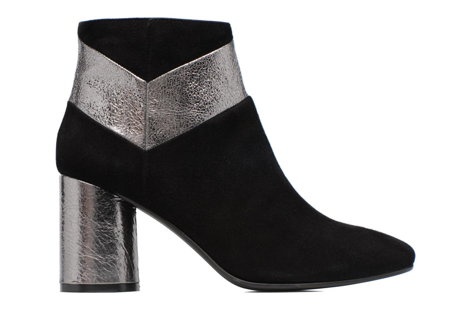 Ankle boots Made by SARENZA Winter Ski #8 Black detailed view/ Pair view