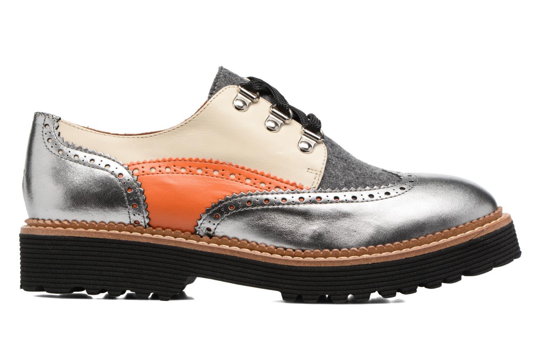 Chaussures à lacets Made by SARENZA Partygloo #6 Argent vue détail/paire