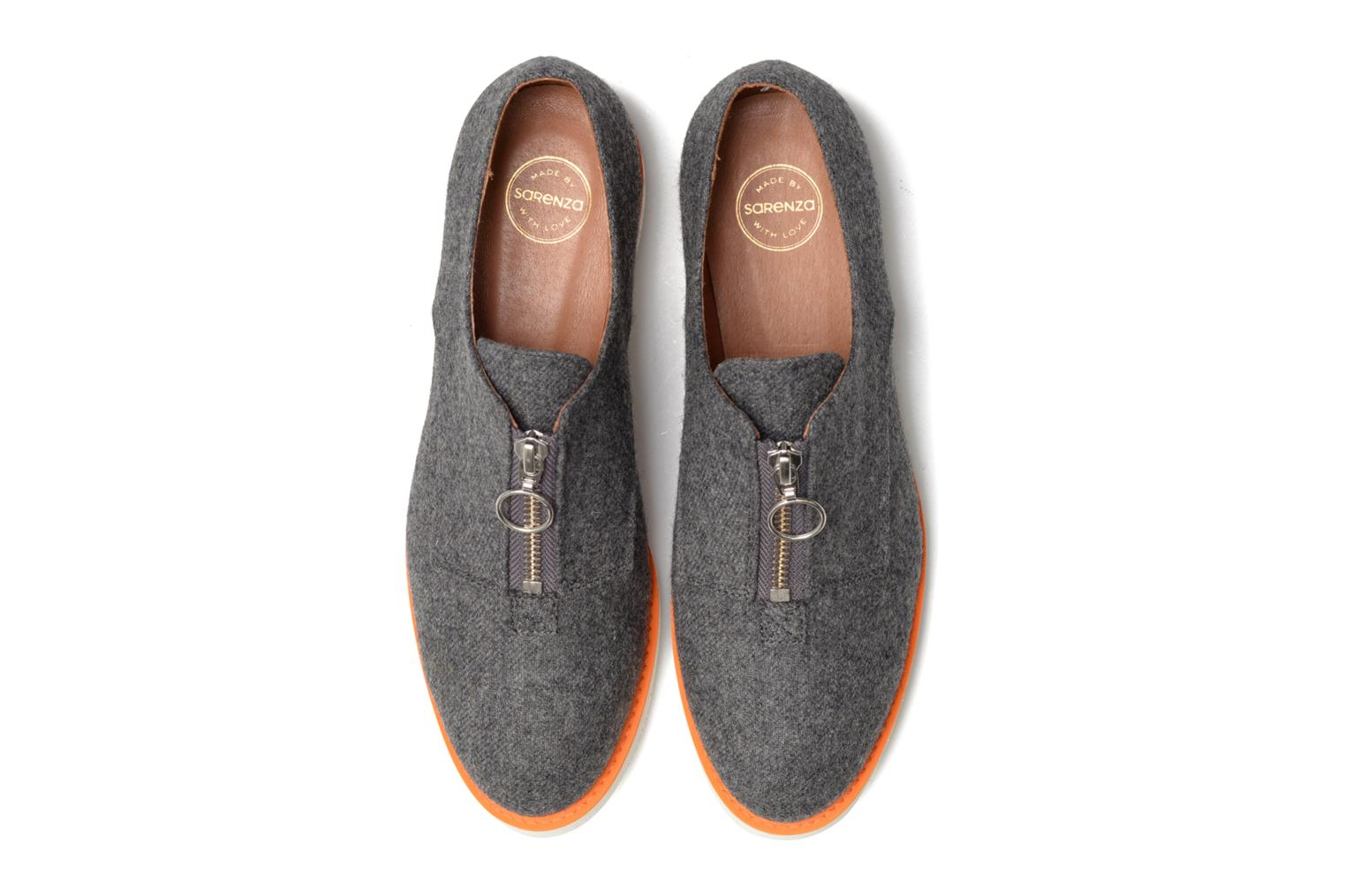 Loafers Made by SARENZA Busy Girl Chaussures à Lacets #1 Grey model view