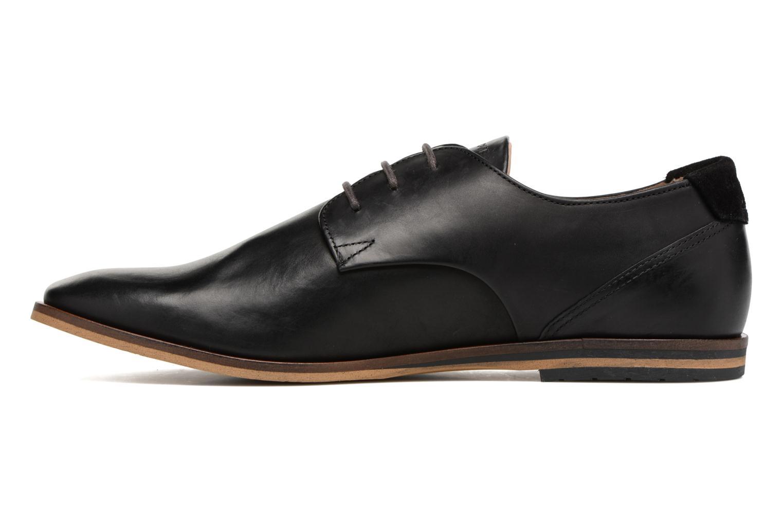 Chaussures à lacets Schmoove Swan Derby Scotola Noir vue face