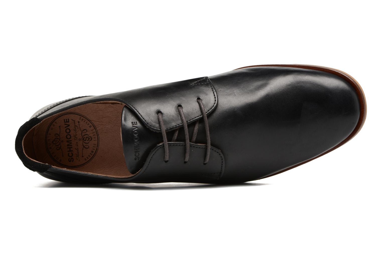 Chaussures à lacets Schmoove Swan Derby Scotola Noir vue gauche
