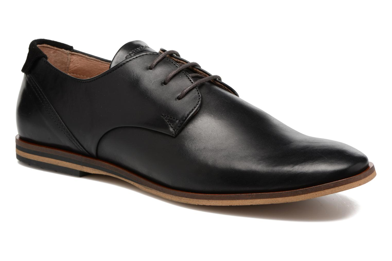 Chaussures à lacets Schmoove Swan Derby Scotola Noir vue détail/paire