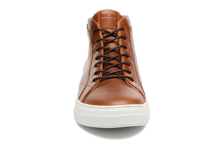 Baskets Schmoove Spark Mid Marron vue portées chaussures