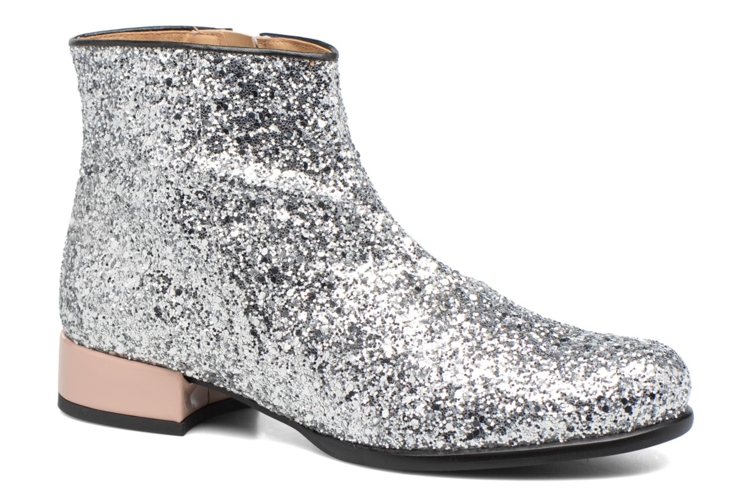 Ankle boots Made by SARENZA Winter Freak #7 Silver view from the right