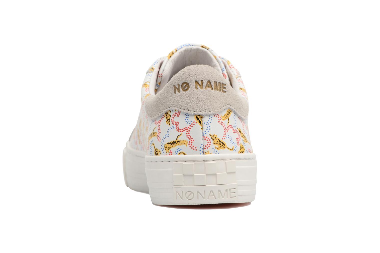 Billig Stor Overraskelse No Name Arcade Sneaker Rosa Nappa Print Tiger Vidd Klassisk Online ZYAHM