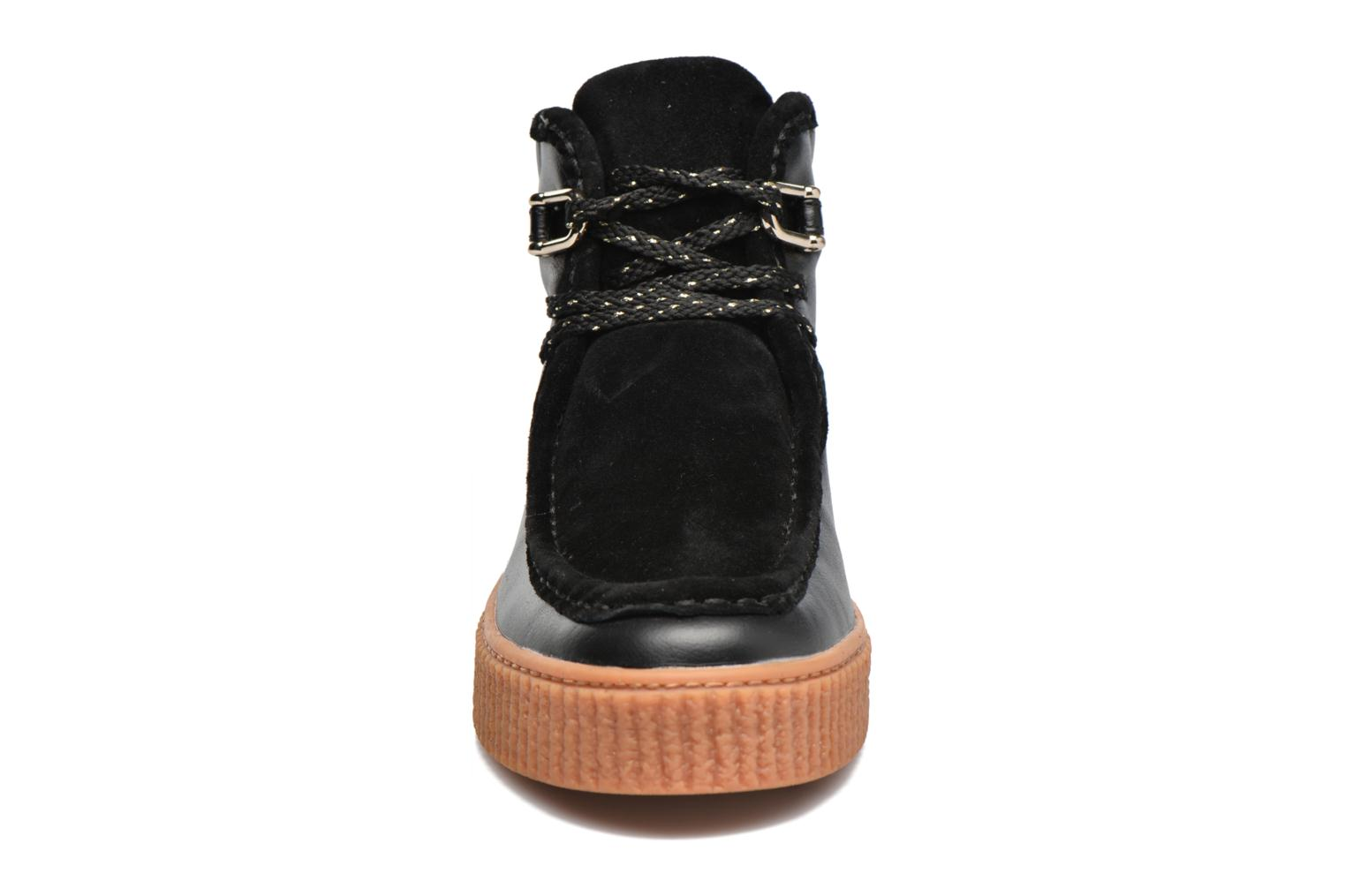 Piccadilly Pink Suede Mid Name Nappa No